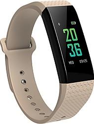 economico -bym uomo nuovo b12 schermo di colore intelligente wristband pulsazione di frequenza cardiaca monitoraggio del sonno impermeabile anti