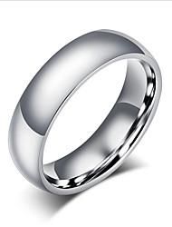 cheap -Men's Women's Basic Titanium Steel Circle Jewelry For Wedding Party