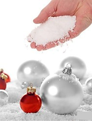 4PCS Fake Magic Instant Snow Fluffy for Christmas Wedding Christmas White Snow