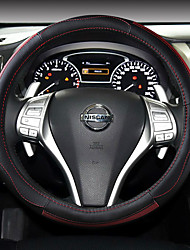 Automotivo Capas para Volante(Couro)Para Nissan Todos os Anos Teana Livina Tiida Sylphy X-Trail Qashqai