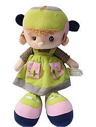 cheap -Plush Doll Girl Doll Fashion 35cm Cute For Children Soft Child Safe Large Size Lovely Wedding Cartoon Design Non Toxic Decorative Retro /