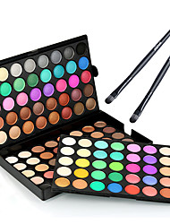 cheap -Eyeshadow Palette Makeup Brushes Ammonia Free Formaldehyde Free Makeup Dry Matte Shimmer Long Lasting # 120 Colors Cosmetic Grooming Supplies