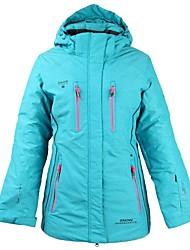 cheap -Women's Ski Jacket Warm, Waterproof, Windproof Skiing / Ski / Snowboard Cotton, Polyster Down Jacket Ski Wear