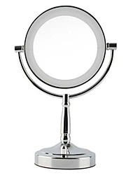 cheap -1 pcs Makeup Face Cosmetic Mirror Plastics Material Glass Round