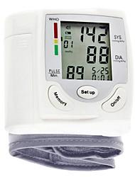abordables -poignet Arrêt automatique Affichage de l'heure Antomatic Off Affichage LCD Mesure de la pression sanguine
