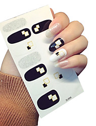 Adesivos para Manicure Artística Adesivo maquiagem Cosméticos Designs para Manicure
