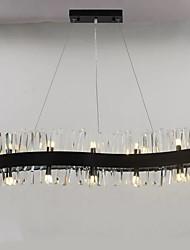 preiswerte -QIHengZhaoMing Pendelleuchten Raumbeleuchtung - Kristall, Moderne, 110-120V 220-240V Inklusive Glühbirne