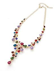 cheap -Women's Rhinestone Imitation Diamond Pendant  -  Classic European Irregular Gold Necklace For Gift Daily
