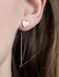 economico -Da donna ORECCHINI Gioielli Pendente Amore Di tendenza Adorabile Personalizzato Euramerican Stile semplice Europeo Lega A forma di cuore