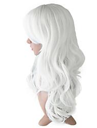 economico -Donna Parrucche sintetiche Onda naturale vino rosso Bianco Blu Verde Giallo Taglio medio corto Parrucca Cosplay Parrucca di Halloween