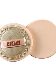 2 pçs Esponja de Pó de Arroz/Esponja de Maquiagem Redonda Feminino