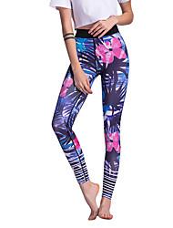 economico -Pantaloni da yoga Leggings Yoga Vita normale Elastico Abbigliamento sportivo Per donna Corsa Yoga Pilates Casual Sport vari