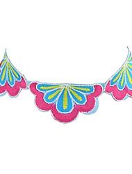 abordables -Femme Collier court / Ras-du-cou  -  Basique Mode Forme Géométrique Violet Bleu clair Colliers Tendance Pour Quotidien Rendez-vous