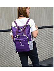 cheap -Unisex Bags Nylon Shoulder Bag Zipper for All Season Orange Purple Light Green Fuchsia Sky Blue