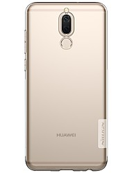 cheap -Nillkin Case For Huawei Mate 10 lite Ultra-thin / Squishy Back Cover Solid Colored Soft TPU for Mate 10 / Mate 10 lite / Huawei