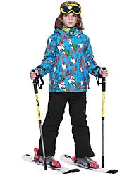 Veste & Pantalons de Ski Garçon Ski Sports de neige Chaud Séchage rapide Etanche Garder au chaud Pare-vent Vestimentaire Respirabilité