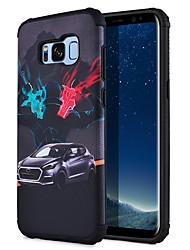 economico -Custodia Per Samsung Galaxy S8 Plus S8 Fantasia/disegno Per retro Vista della città Resistente PC per S8 Plus S8 S7 edge S7