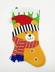 baratos -Acessórios de Festa Decorações Natalinas Brinquedos Meias Urso Férias Extra Grande Férias Ternos de Papai Noel Adulto Peças
