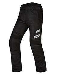 cheap -Mens Motorcycle Protective Jacket Warm Waterproof Reflective Belt Pants Protector Gear For Motorsport