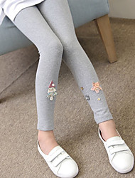Girls' Solid Pants,Wool Spring Fall Cute Active Blushing Pink Gray
