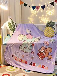 Недорогие -Супер мягкий Чистый хлопок одеяла