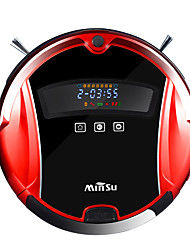 cheap -iPS Minsu M06 Self Charging Smart Robotic Vacuum Cleaner with Drop Sensing Technology and HEPA Style Filter for Pet Fur and Allergens