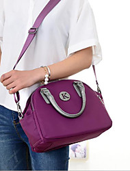 cheap -Women Bags Oxford Cloth Nylon Tote Zipper for Casual All Season Blue Black Purple