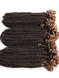 cheap -Braiding Hair Curly / Senegalese Twist Pre-loop Crochet Braids Synthetic Hair 20 roots / pack, 3 Pieces Hair Braids Ombre Short / Medium Length New Arrival / African Braids
