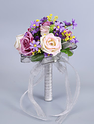 "cheap -Wedding Flowers Bouquets Wedding Birthday Party Mix 9.06""(Approx.23cm)"