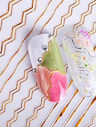 abordables -Autocollant d'art de clou Stickers Autocollant Maquillage cosmétique Nail Art Design