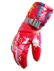 cheap -Winter Gloves Ski Gloves Women's Full-finger Gloves Skin Keep Warm Windproof Moisture Permeability Breathable Skiing Water proof material