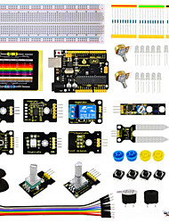 cheap -Keyestudio Sensor Kit - K4 for Arduino Starter Kit Compatible Arduino UNO R3 Board ADL345JoystickRelayRGB LED19Projects