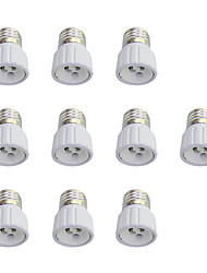 10Pcs E27 to GU10 Quick Bulb Converter Bulb Accessory