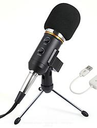 baratos -KEBTYVOR Mk-F200FL Com FioMicrophoneConjuntos Computadores e Notebooks Microfone Condensador