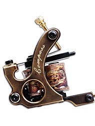 Professional Puer Copper Coil Tattoo Machine Liner Guns Permanent Makeup Machine Artist Tattoo Supply