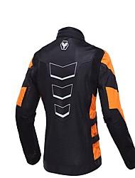 Недорогие -Мужская мотоцикл защитная куртка с капюшоном дышащая защитная шестерня для автоспорта