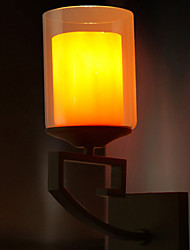 abordables -Applique murale Lumière d'ambiance 40W 220V E14 Rétro / Vintage Moderne/Contemporain Cuivre antique