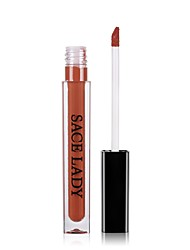 cheap -Lip Gloss Lipstick Matte Liquid Coloured gloss Moisture Anti-Wear Natural Waterproof 1