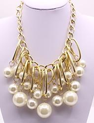 cheap -Women's Irregular Shape Classic Fashion Pendant Imitation Pearl Imitation Pearl Alloy Pendant Engagement Ceremony