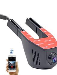 a5-d hd 1280 x 720 1080p 140 degrés voiture dvr 1248 pas d'écran (sortie par app) dash camforuniversal wifi g-capteur mode de