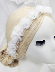 economico -fasce in chiffon 1pc headpiece wedding party elegante stile femminile