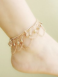 cheap -Women's Anklet/Bracelet Alloy Simple Elegant Line Jewelry For Casual