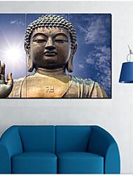 Estampados de Lonas Esticada Contemprâneo,1 Tela Pintura a Óleo Decoração de Parede For Decoração para casa