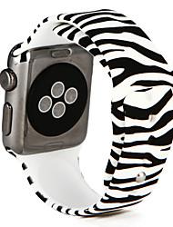 billige -Urrem for Apple Watch Series 3 / 2 / 1 Apple Håndledsrem Sportsrem Silikone