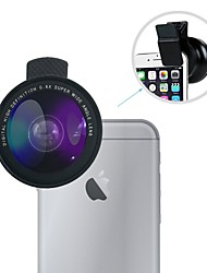 cheap -Mobile Phone Lens Wide-Angle Lens / Macro Lens Aluminium alloy 10X Macro iPhone 7 Plus / iPhone 7 / iPhone 6s Plus / 6 Plus