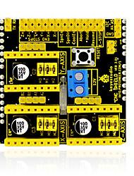 keyestudio cnc shield v2 gravering maskine / 3d printer / a4988 driver ekspansionskort til arduino