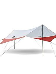 3-4 persone Parasole Singolo Tenda da campeggio Una camera Tenda automatica Alpinismo per Campeggio e hiking >3000mm Terylene-400*350 CM