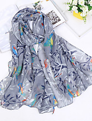 cheap -Women's Cotton Linen Rectangle Print