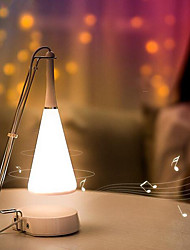 cheap -1pc LED Night Light Bluetooth Rechargeable Touch Sensor with USB Port USB Powered 5 Warm White USB Powered powered