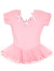 economico -Abbigliamento da ballo per bambini Per bambini Addestramento 100% cotone Tulle Maniche corte